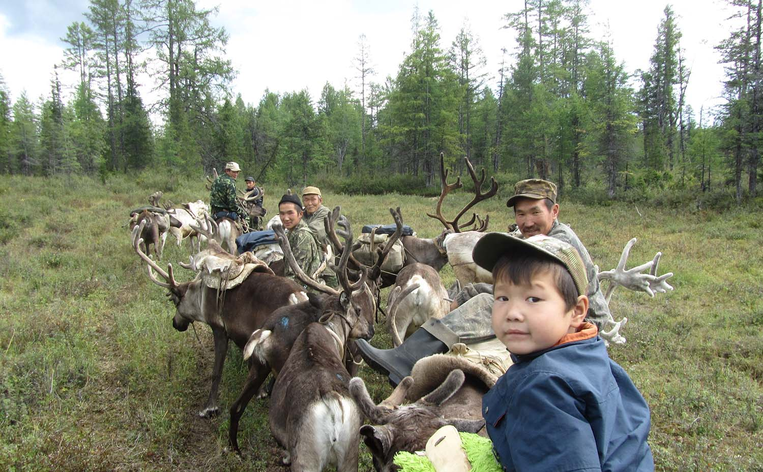 Nomadic schools in the Republic of Sakha (Yakutia), Russia